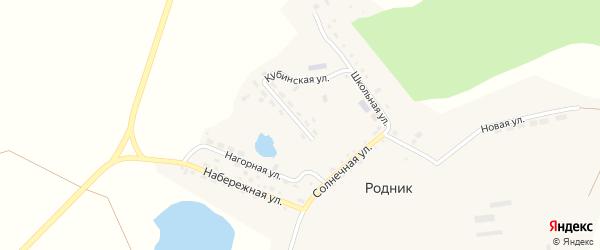 Кубинская улица на карте поселка Родника с номерами домов