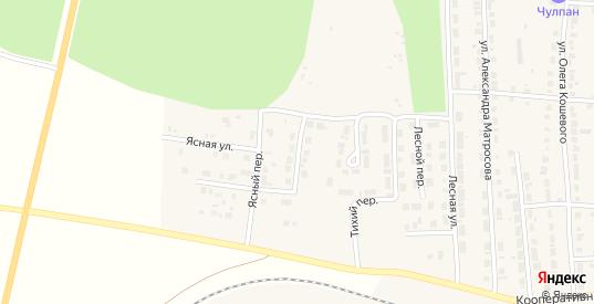 Березовый переулок в Богдановиче с номерами домов на карте. Спутник и схема онлайн