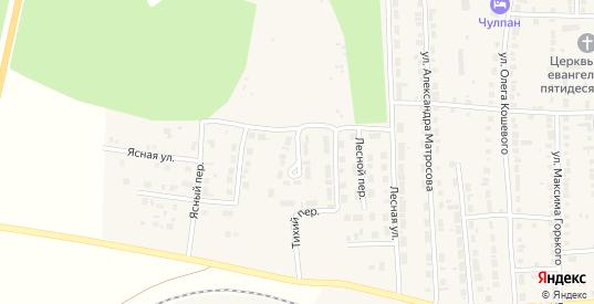 Тихая улица в Богдановиче с номерами домов на карте. Спутник и схема онлайн