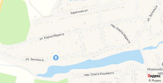 Карла Маркса 2-й переулок в Богдановиче с номерами домов на карте. Спутник и схема онлайн