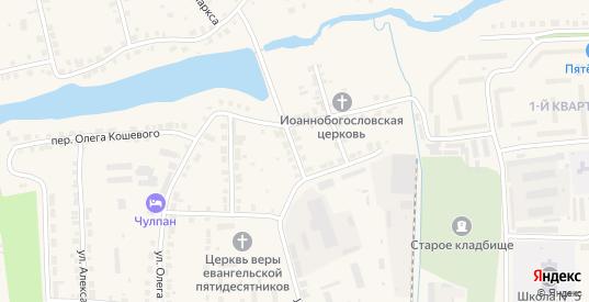 Переулок 9 Января в Богдановиче с номерами домов на карте. Спутник и схема онлайн