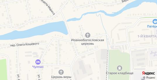 Улица 9 Января в Богдановиче с номерами домов на карте. Спутник и схема онлайн