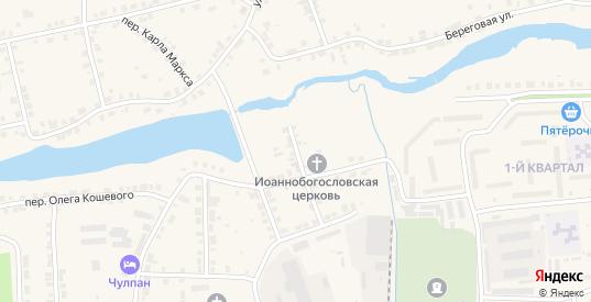 Школьный переулок в Богдановиче с номерами домов на карте. Спутник и схема онлайн