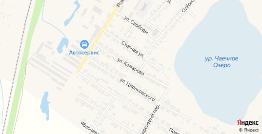 Улица Комарова в Богдановиче с номерами домов на карте. Спутник и схема онлайн