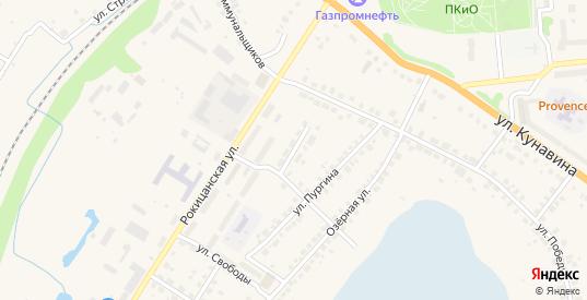 Улица Пархоменко в Богдановиче с номерами домов на карте. Спутник и схема онлайн