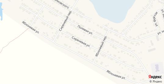 Сиреневая улица в Богдановиче с номерами домов на карте. Спутник и схема онлайн