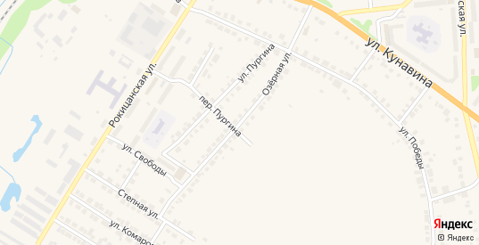 Озерная улица в Богдановиче с номерами домов на карте. Спутник и схема онлайн