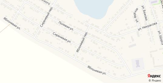 Яблоневый переулок в Богдановиче с номерами домов на карте. Спутник и схема онлайн
