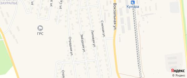 Липовая улица на карте Сухого Лога с номерами домов