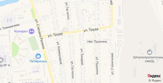 Улица Токарей в Богдановиче с номерами домов на карте. Спутник и схема онлайн