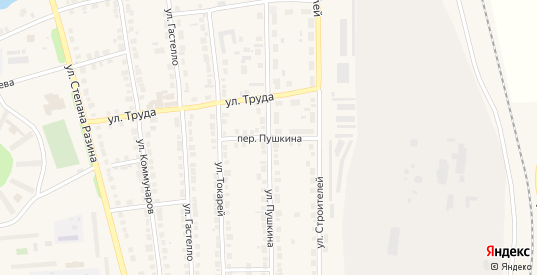 Переулок Пушкина в Богдановиче с номерами домов на карте. Спутник и схема онлайн