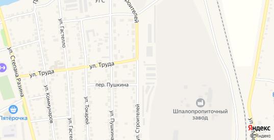 Улица Строителей в Богдановиче с номерами домов на карте. Спутник и схема онлайн