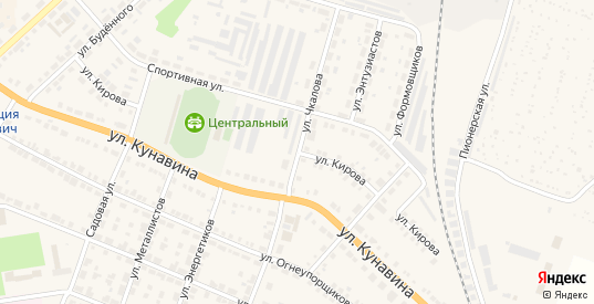 Улица Кирова в Богдановиче с номерами домов на карте. Спутник и схема онлайн