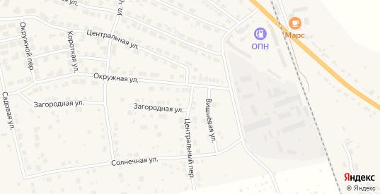 Центральный переулок в Богдановиче с номерами домов на карте. Спутник и схема онлайн