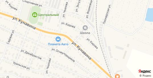Станционный переулок в Богдановиче с номерами домов на карте. Спутник и схема онлайн
