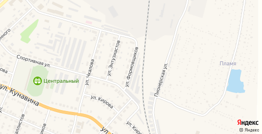 Улица Формовщиков в Богдановиче с номерами домов на карте. Спутник и схема онлайн