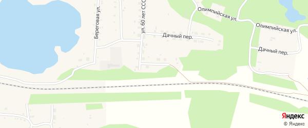 Улица Нефтяников на карте села Канашево с номерами домов