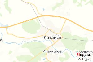 Карта г. Катайск Курганская область