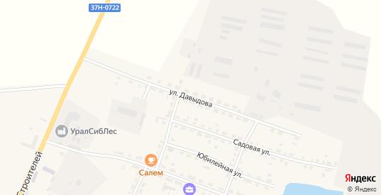 Улица Давыдова в Катайске с номерами домов на карте. Спутник и схема онлайн