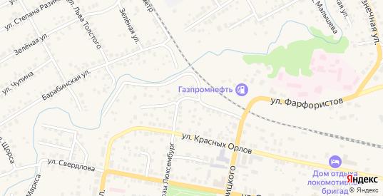 Пионерский переулок в Камышлове с номерами домов на карте. Спутник и схема онлайн