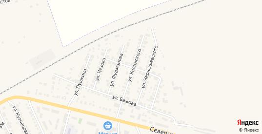 Улица Чапаева в Камышлове с номерами домов на карте. Спутник и схема онлайн