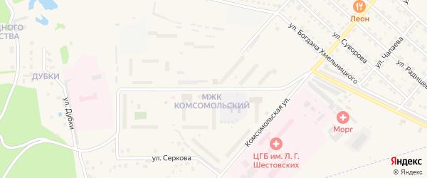Улица Маршала Жукова на карте Ирбита с номерами домов