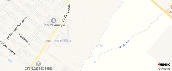 Сад Юбилейный-4 на карте Ирбита с номерами домов