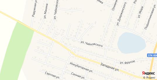 Улица Чайковского в Шумихе с номерами домов на карте. Спутник и схема онлайн