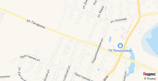 Российская улица в Шумихе с номерами домов на карте. Спутник и схема онлайн