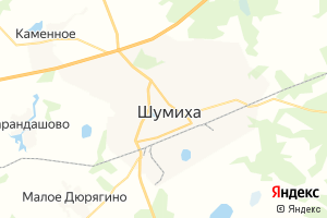 Карта г. Шумиха Курганская область