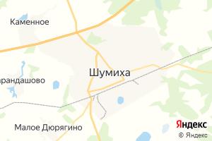 Карта г. Шумиха
