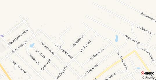 Луговая улица в Шумихе с номерами домов на карте. Спутник и схема онлайн