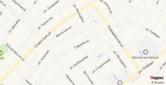 Садовая улица в Шумихе с номерами домов на карте. Спутник и схема онлайн