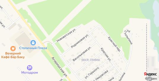Родниковая улица в Югорске с номерами домов на карте. Спутник и схема онлайн