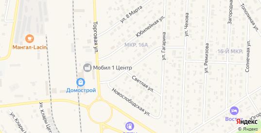 Улица Защитников Отечества в Югорске с номерами домов на карте. Спутник и схема онлайн