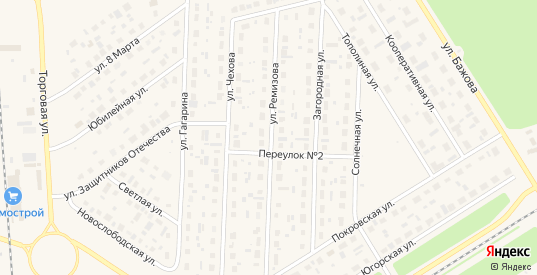 16-й микрорайон в Югорске с номерами домов на карте. Спутник и схема онлайн
