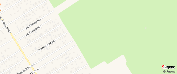 Добрая улица на карте Югорска с номерами домов