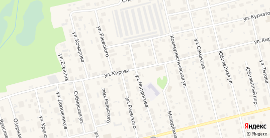 Улица Матросова в Советском с номерами домов на карте. Спутник и схема онлайн