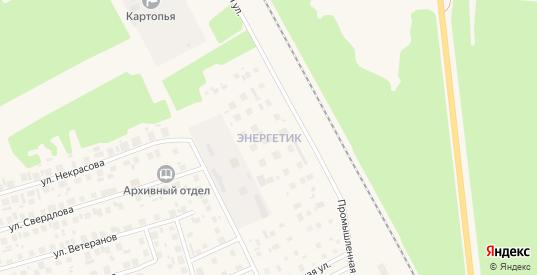 Территория сдт Энергетик в Советском с номерами домов на карте. Спутник и схема онлайн