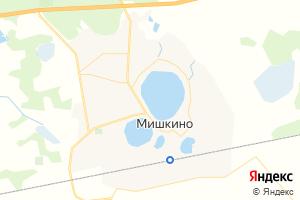 Карта пгт Мишкино Курганская область