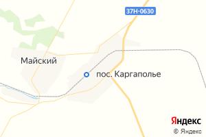 Карта пгт Каргаполье