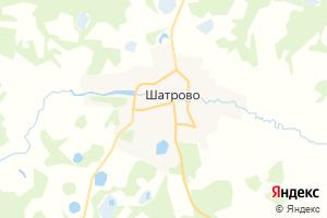Карта с. Шатрово Курганская область
