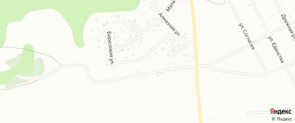 Хрустальная улица на карте Зайково с номерами домов