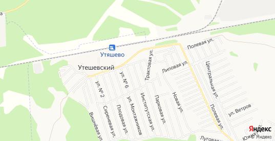 Карта садового некоммерческого товарищества Надежда-3 в Тюмени с улицами, домами и почтовыми отделениями со спутника онлайн