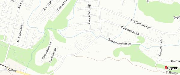 Ягодная улица на карте территории СНТ Иволги с номерами домов