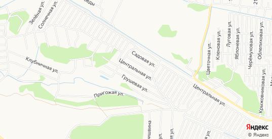 Карта садового некоммерческого товарищества Автоприбор-2 в Тюмени с улицами, домами и почтовыми отделениями со спутника онлайн