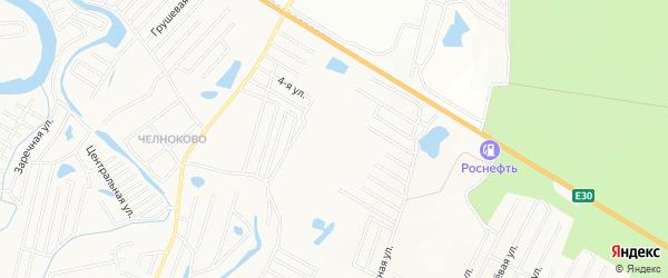 Карта поселка Кургансельмаша города Кургана в Курганской области с улицами и номерами домов