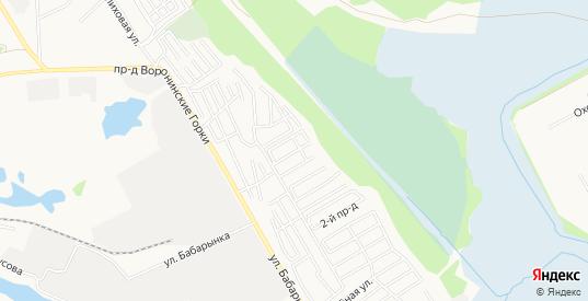 Карта садового некоммерческого товарищества Аккумуляторщик-1 в Тюмени с улицами, домами и почтовыми отделениями со спутника онлайн
