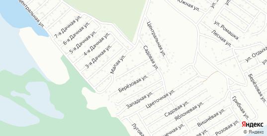 Рябиновая улица в территории ДНТ Березка в Тюмени с номерами домов на карте. Спутник и схема онлайн