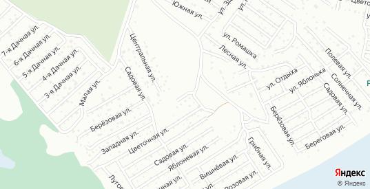 Карьерная улица в территории ДНТ Березка в Тюмени с номерами домов на карте. Спутник и схема онлайн